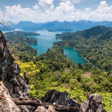 De bevolking en het klimaat van Thailand